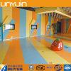 Plancher en plastique coloré de vinyle de la sûreté verte spéciale des enfants