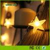 Zeichenkette-Licht des warmes Weiß RGB-flexibles Stern-LED für Chiristmas Dekoration