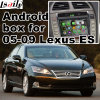 Поверхность стыка автомобиля видео- для 2005-2009 Lexus Es, Android задего навигации и панорамы 360 опционных
