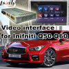 Video interfaccia dell'automobile per 2015 o Infiniti successivo Q50 e Q60, parte posteriore Android di percorso e panorama 360 facoltativi