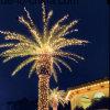 Свет пальмы пляжа рождества для украшения сада