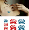 Tatuaje temporal impermeable de moda del arte de las etiquetas engomadas del tatuaje