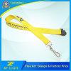 Cinta de encargo barata de la impresión de la insignia con el gancho de leva del metal (XF-LY17)
