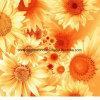 цветок Pigment&Disperse 100%Polyester Sun напечатал ткань для комплекта постельных принадлежностей