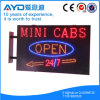 Retângulo de Hidly sinal do diodo emissor de luz dos táxis de América o mini