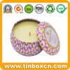 nahtloser duftender Zinn-Kasten der Kerze-4oz, Metallarbeitsweg-Zinn