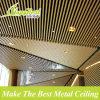 Soffitto di alluminio del deflettore del grano di legno decorativo