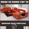 現代ホーム家具の居間セットの革ソファーUの形デザイン