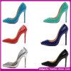2015 europeu Style Sexy High Heel Shoes/Bridemaid Shoes Latest Design Fashion Shoes para Women (H-5423)