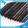 SAE 100R2 / 2SN 3/8 '' y 1/2 manguera de goma hidráulica para equipos hidráulicos