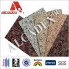 El panel compuesto plástico de aluminio del color de madera/de piedra