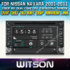 닛산 Navara (W2-D8900N)를 위한 Witson Audio
