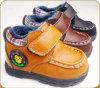 Ботинки детей кожи способа OEM новые