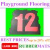 SBR colorido de seguridad al aire libre de goma del piso EN1177 Certificado Mats