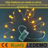 Het Licht van het Koord van het Koper van de LEIDENE Doos van de Batterij (Pompoen 30-3AA10-B)