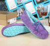 2015 de Hete Schoenen van de Winter van de Schoenen van de Vrouwen van de Schoenen van het Leer van de Verkoop Toevallige