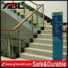 Escalier droit matériel d'acier inoxydable de Contruction (DD002)