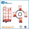 Draht-logistischer Lager-Ineinander greifen-Rollenbehälter