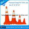 28 '' flexibles PVC Traffic Cone mit 2 Reflective Tapes (S-1232)