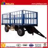 2つの車軸四輪綿の輸送の農業のトレーラー