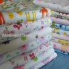 Baumwolle 100% Brushed Flannel Fabric für Baby Diaper und Blanket