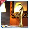 Robinet d'or de bassin de culture d'art pour la salle de bains