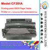 Cartuccia genuina del laser per il toner dell'HP CF281A (81A)