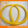 Tuyau agricole jaune de pulvérisateur de PVC