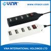 Eje del USB 2.0 con el cable (HUB-144)