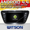 Witson Android 4.4 Car DVD para Suzuki S-Cross com A9 o Internet DVR Support da ROM WiFi 3G do chipset 1080P 8g