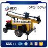 Preços bons furados água usados portáteis da máquina Drilling do martelo novo de 100m Dfq-100W DTH