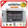 De wijd Gebruikte Goedkope volledig Automatische Incubator van het Ei voor 2000 Eieren