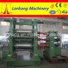 Máquina de goma del calendario del rodillo de la marca de fábrica tres de Lanhang
