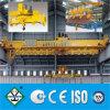 Overhead electromágnetico Crane, Magnetic Crane (control de calidad), Pesado-deber Double Girder Overhead Crane con Electromagnetic Chuck para Steel Scrap