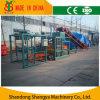 Qt4-20 halbautomatische hydraulische Betonstein/Ziegelstein Produciton Zeile