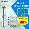 고품질 깊은 우물 Ubmersible 태양 펌프 3inch를 위한 태양 수도 펌프 태양 펌프
