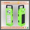Luz Emergency solar recargable del LED con 1W la linterna, USB (SH-1905)