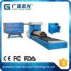 para os materiais redondos Gy-3000CD giratórios morrer a máquina de corte do laser da placa