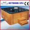Il legno fa un passo vasca da bagno acrilica di massaggio (AT-8801)