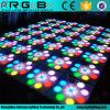 Heiße verkaufenstadiums-Partei, welche 60*60cm RGB die Blume LED Dance Floor Wedding ist