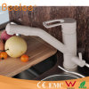 Luxury contemporaneo Brass Filtration White Marble Kitchen Faucet Tap con Swivel Spout