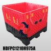 Recipiente plástico logístico da caixa de pálete do armazém