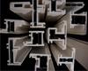 Profil de coextrusion d'Aluminium-Plastique