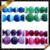 I branelli opachi del Onyx, branelli rotondi opachi glassati agata multicolore, Sardonyx borda liberamente (GB003)