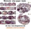 El jaspe Lilac rebordea la joyería de la piedra preciosa