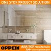 Vanidad blanca moderna del cuarto de baño del doble de la laca del chalet de Oppein Australia (BC15-L03)