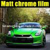 Quality Premium Matte Chrome Green Car Wraps Vinyl Film 1.52*20m