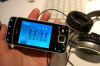 Teléfono celular abierto del negro N96 (16 GB)