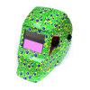 다채로운 그려진 자동 어두워지는 용접 헬멧