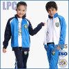 OEMの卸し売り安いスポーツは刺繍された子供の学生服を印刷した